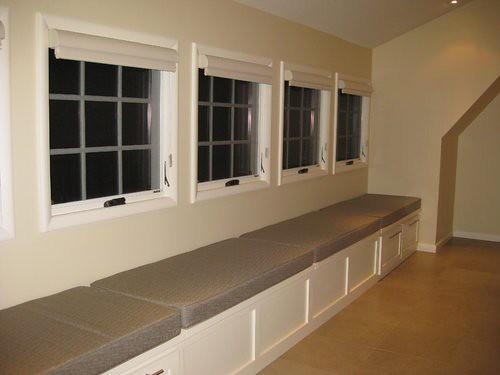 Window Seat Cushions Long Window Seat In Upstairs