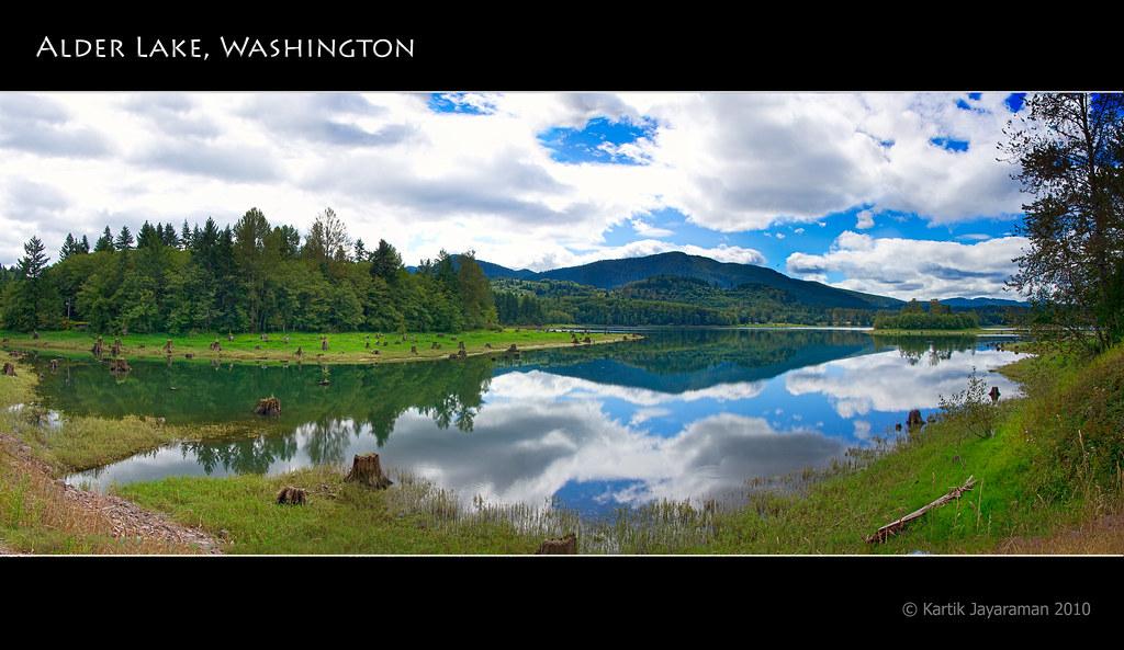 Alder Lake Eatonville Washington On The Way Back From