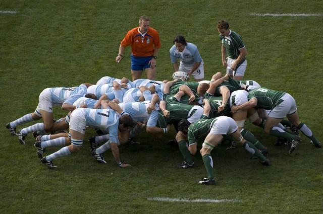Rugby Scrum Flickr Photo Sharing