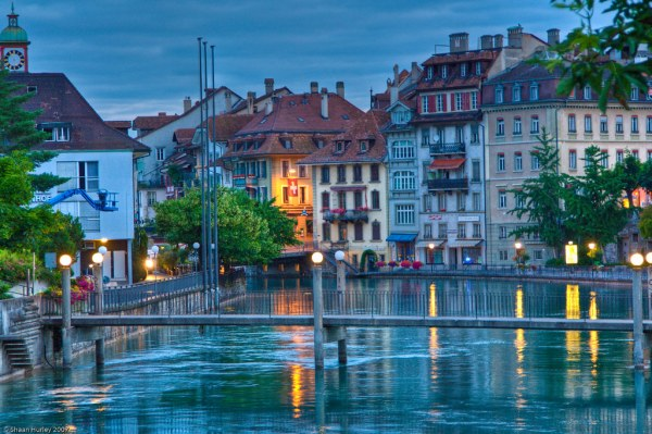 Thun, Switzerland | Before dawn, while the town slept. I ...