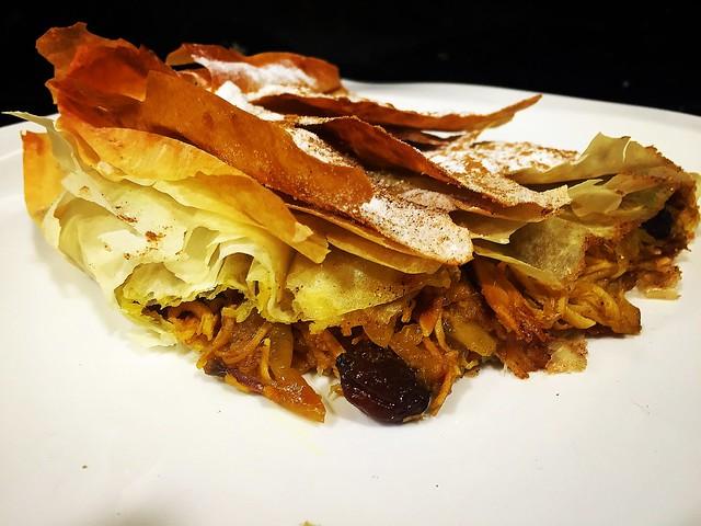Pastela, plato árabe