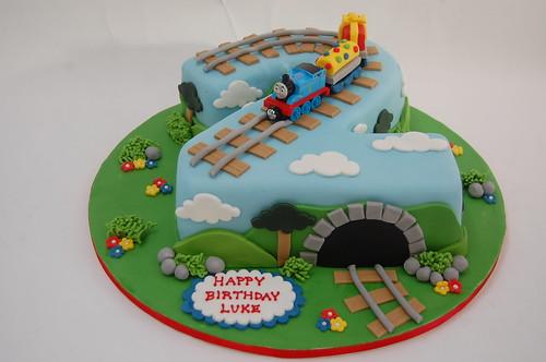 Cake Designs Number 2 : Thomas the Tank Engine Birthday Cake Beautiful Birthday ...
