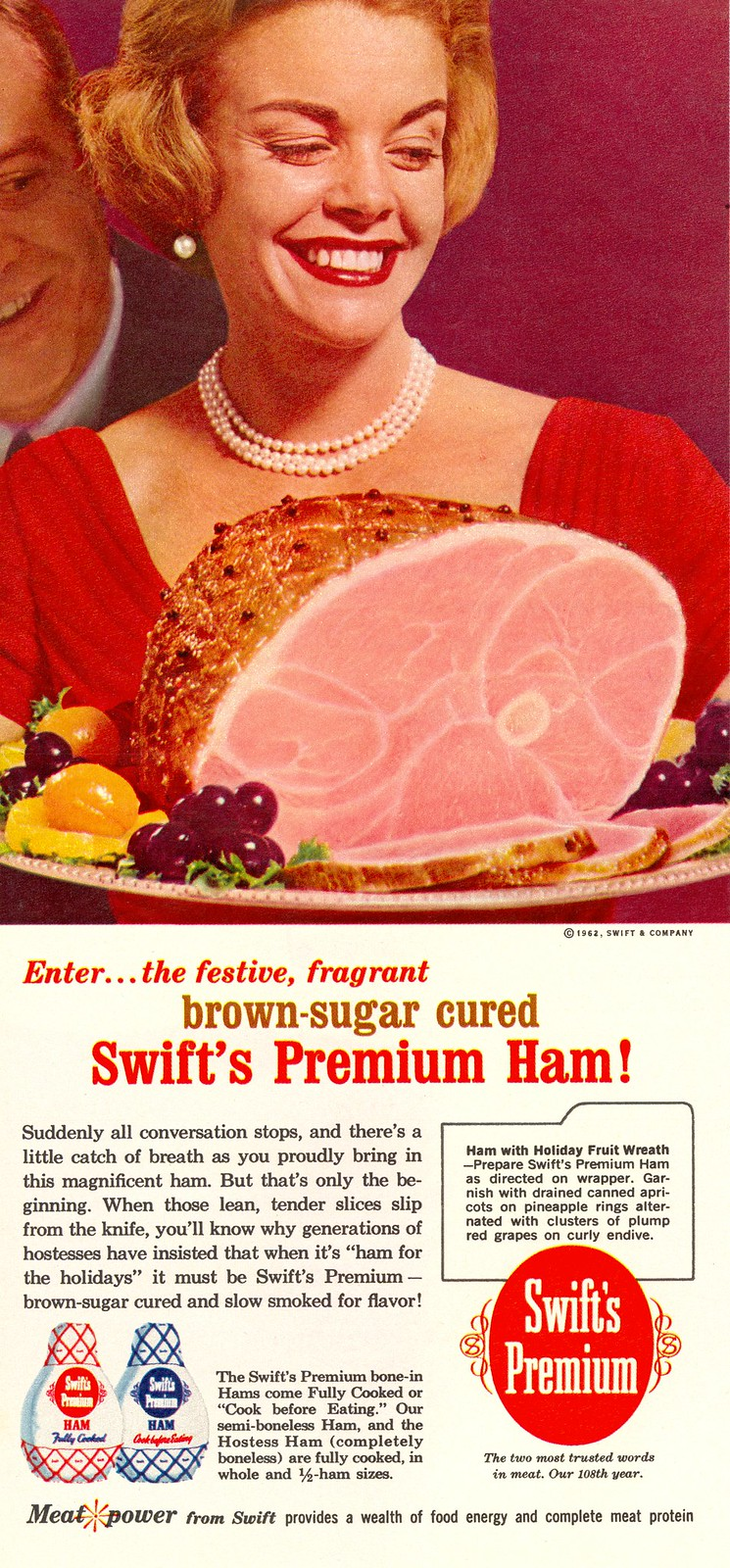 Swift's Premium - published in Woman's Day - December 1962