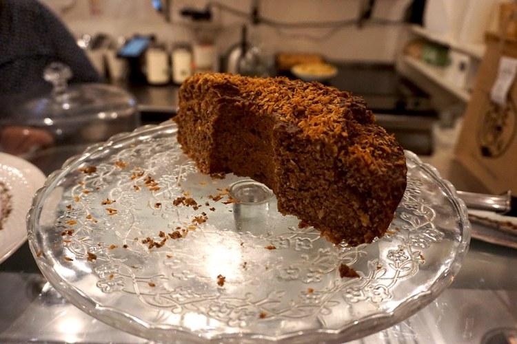 Gluten free cake from My Free Kitchen in Paris, France