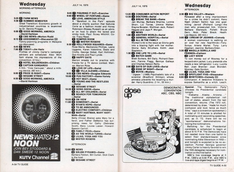 TV Guide - July 1976