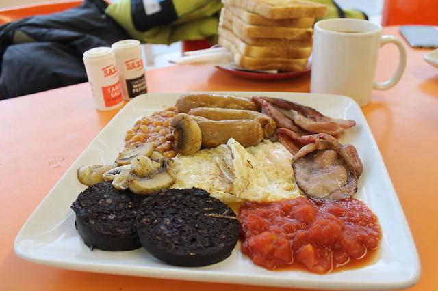 Desayuno británico