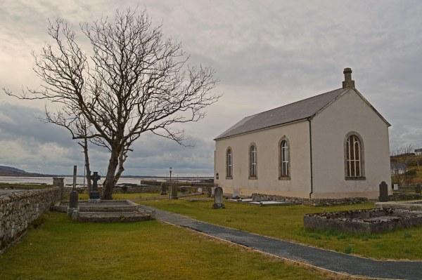St Crone's Church, Templecrone Parish, Dungloe, County Don ...