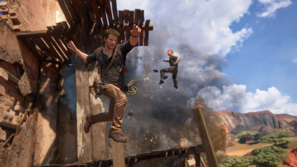 Uncharted 4: A Thief's End - 'Madagascar' Gameplay 6