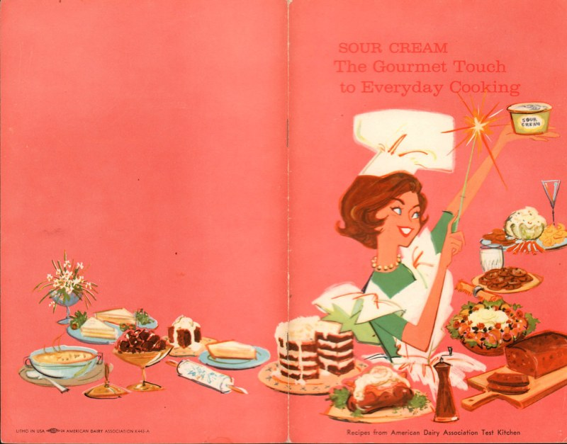1960s cook book
