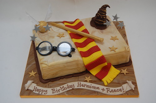 Ultimate Harry Potter Spell Book Cake Beautiful Birthday