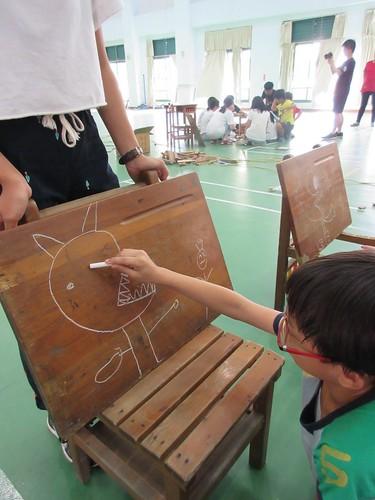 【南科國小/南藝大閱讀裝置計畫2】怪獸書架:小朋友自己來設計