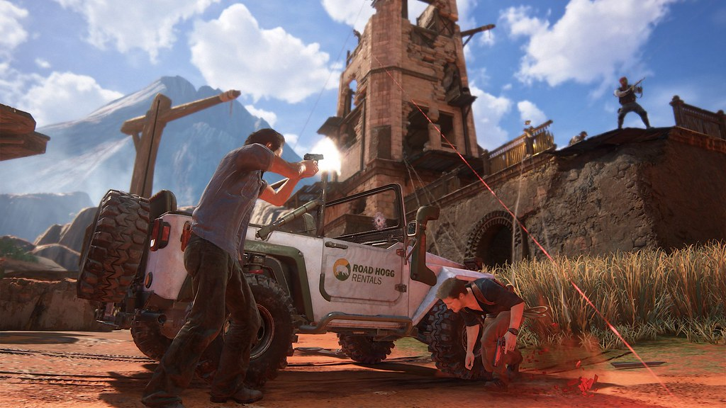 Uncharted 4: A Thief's End - 'Madagascar' Gameplay 4