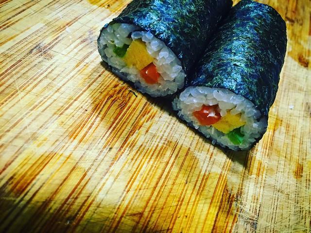 Tamagoyaki en sushi
