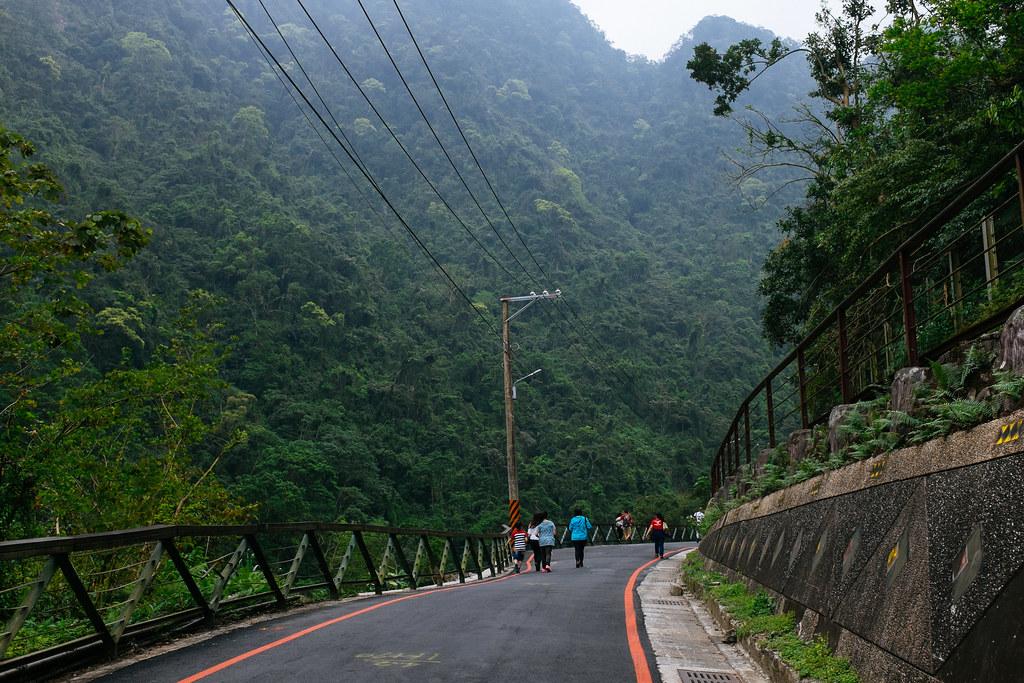 Frondosos bosques rodean Wulai