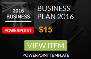 Business Plan 2016 Powerpoint Template 4