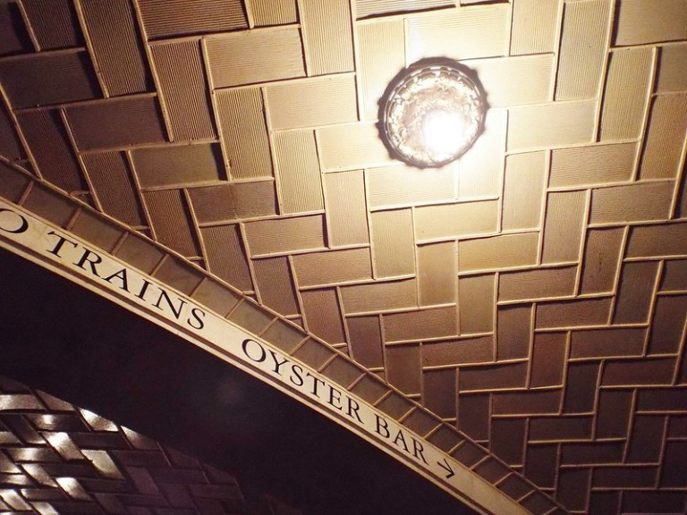 Oyster Bar, Grand Central Station, New York - the tea break project solo female travel blog