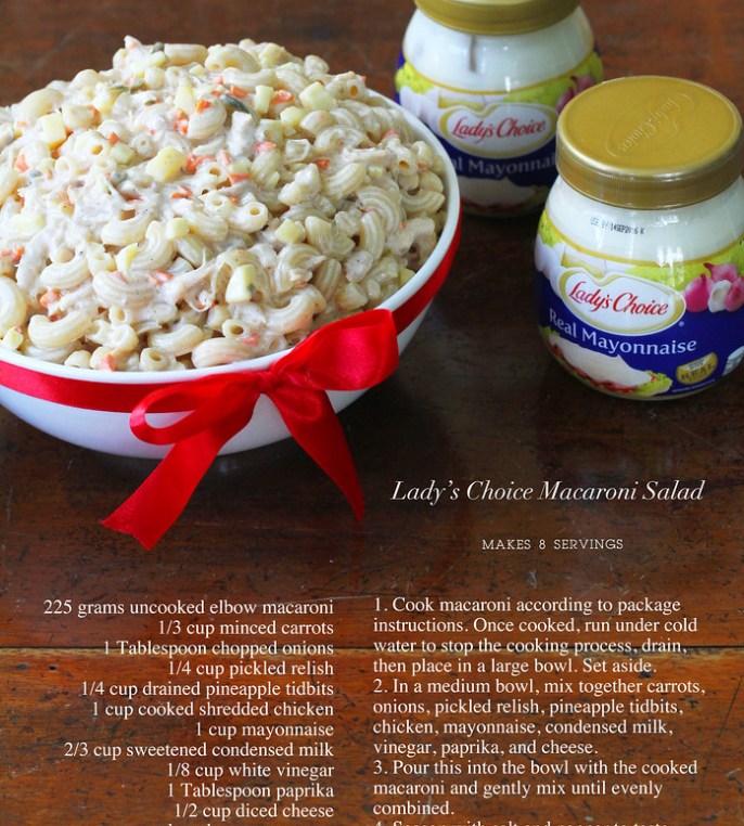 Lady S Choice Macaroni Salad Recipe