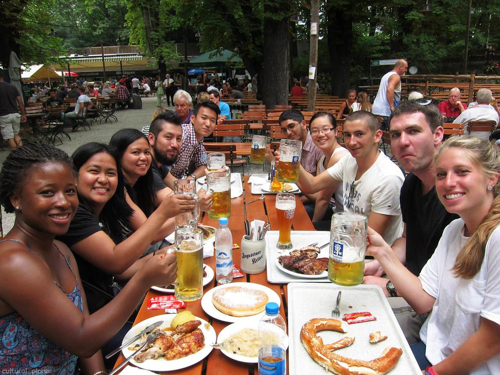Beer Garden Munich