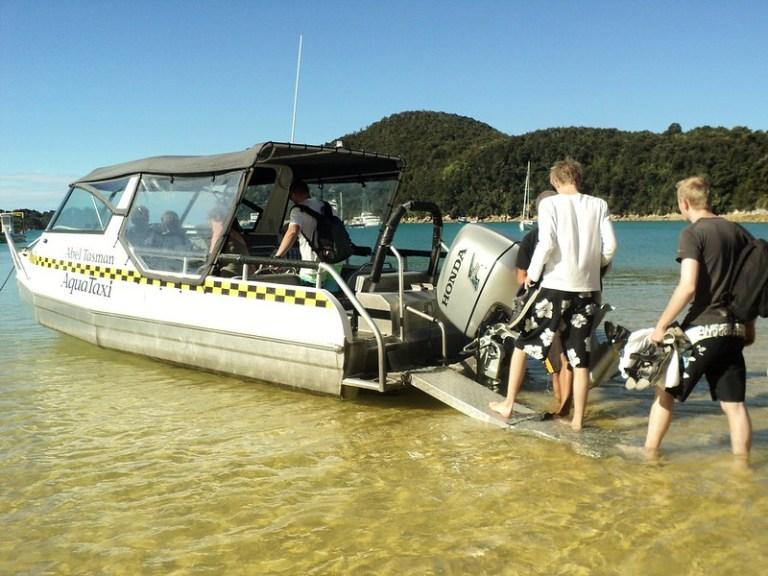 Abel Tasman Aquataxi, New Zealand - the tea break project solo female travel blog