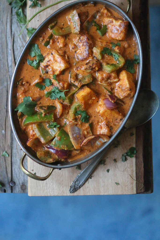 Paneer Tikka Masala- Easiest 30 minute Restaurant Style Curry |foodfashionparty| #paneertikka #indianfood