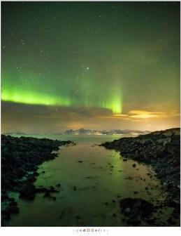 aurora borealis lofoten laukvik