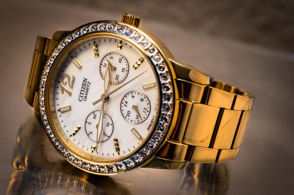Fotografía comercial Citizen Wristwatch