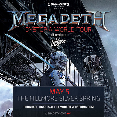 Megadeth at the Fillmore Silver Spring