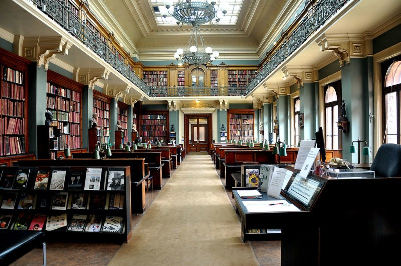 National Art Library, Victoria & Albert Museum, London, England.