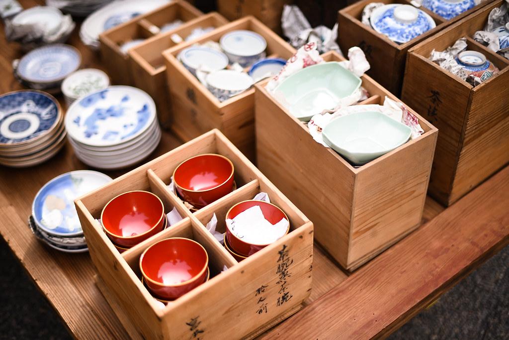 toji temple flea market
