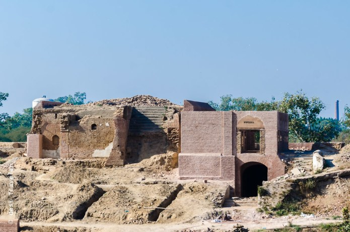 Gobindgarh fort restoration work