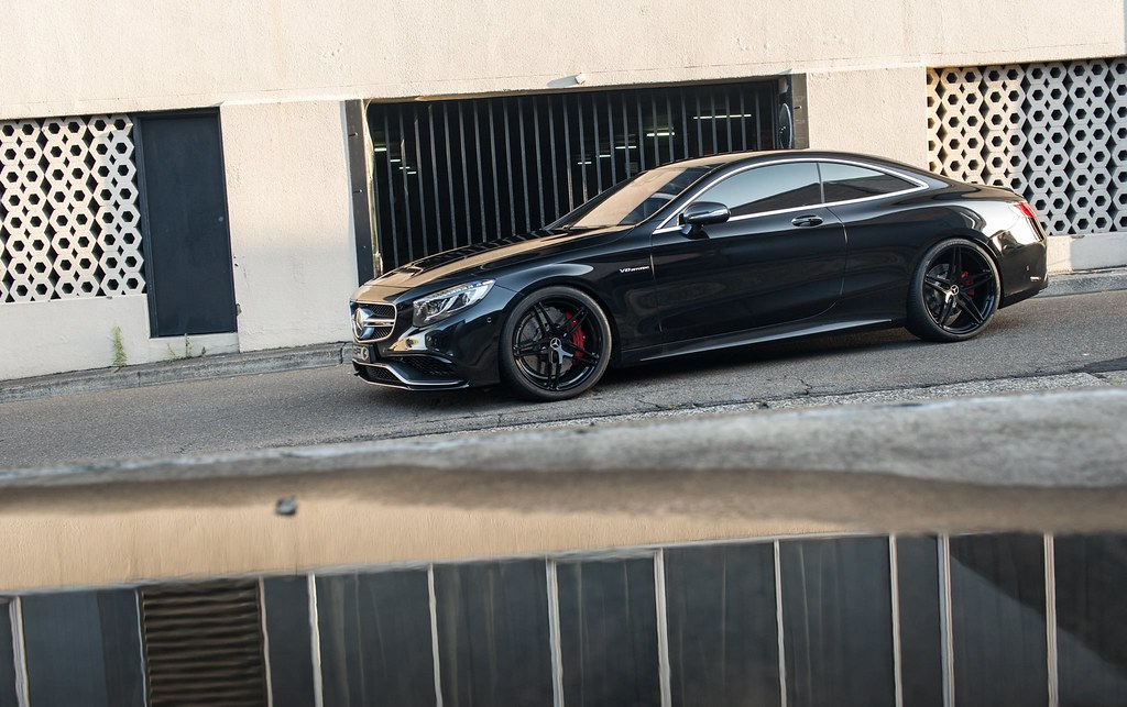 HRE Wheels S63 AMG Coupe With HRE P107 Wheels MBWorld