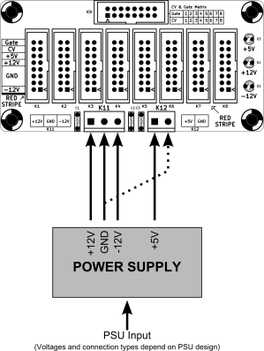 Eurorack Power Buses | Electronic things… and stuff