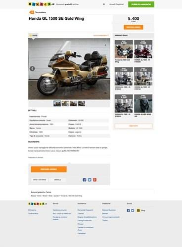 Mototruffa per una Gold Wing Honda: esempio 2