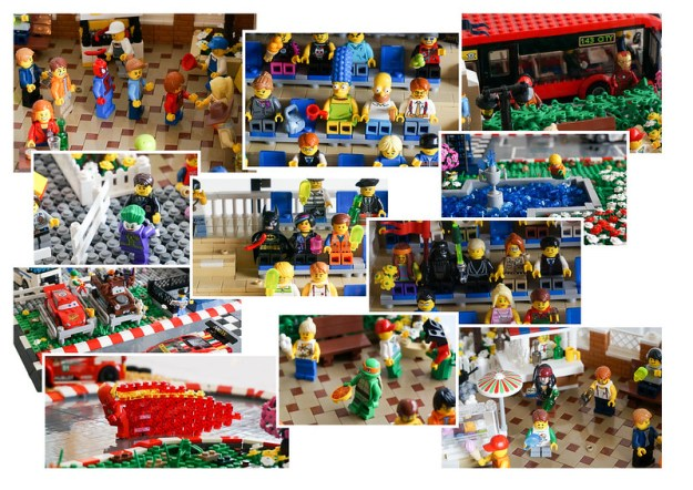Super Speedway Cameos by Brick Knight
