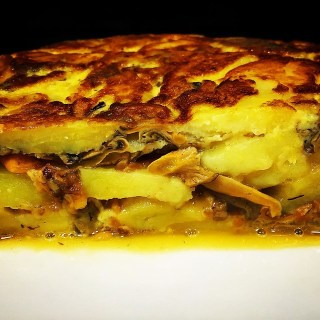 Tortilla de patata o tortilla española