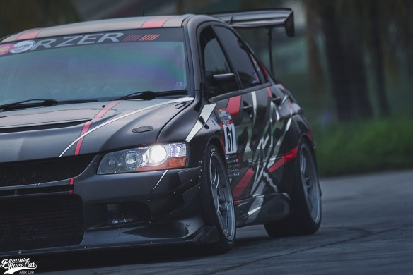 Time Attack Challenger – Filbert's EVO IX RS2BECAUSE RACE