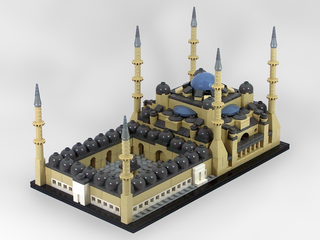 Blue Mosque The Brothers Brick The Brothers Brick