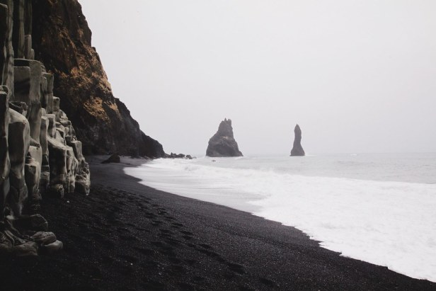 Black Sand Beach | Maps of Pangea