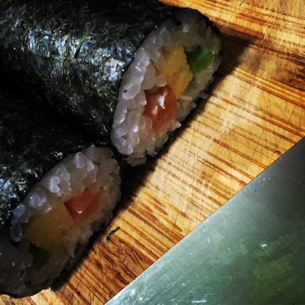 Alga nori para sushi