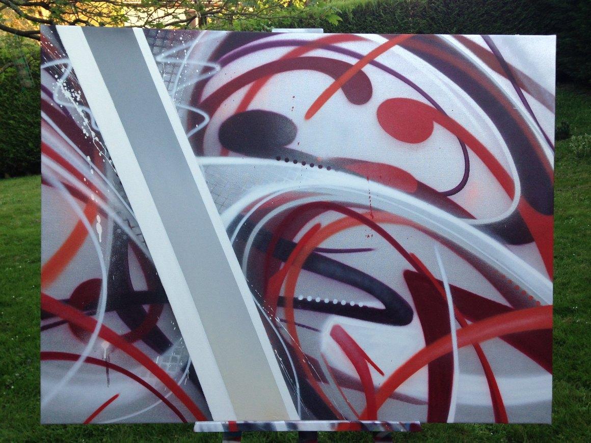 graffiti toile