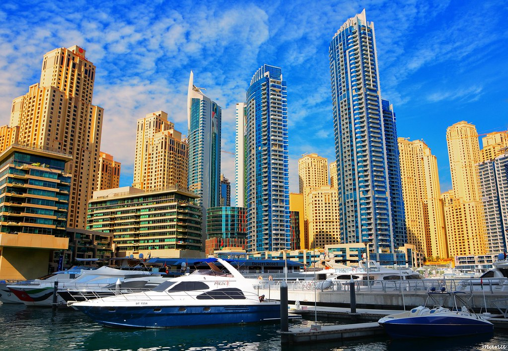 The Dubai Marina Dubai Marina Is A District In Dubai