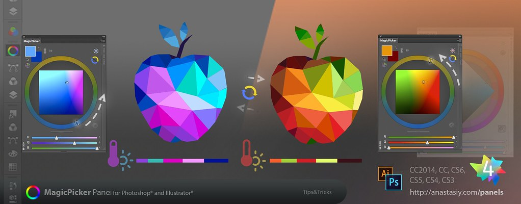 Tip41 Temperature Color Wheel In Adobe Photoshop And Ill