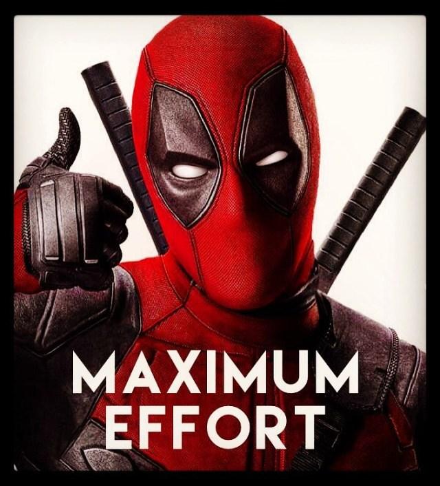 Image result for deadpool maximum effort