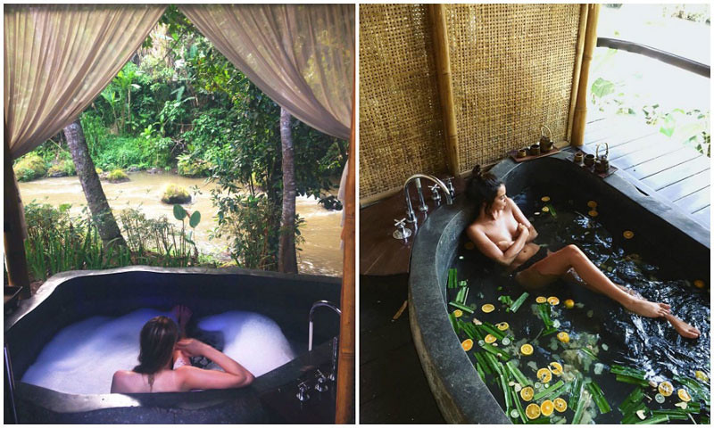 18 Romantic Bali Villas With The Most Indulgent Bathtubs
