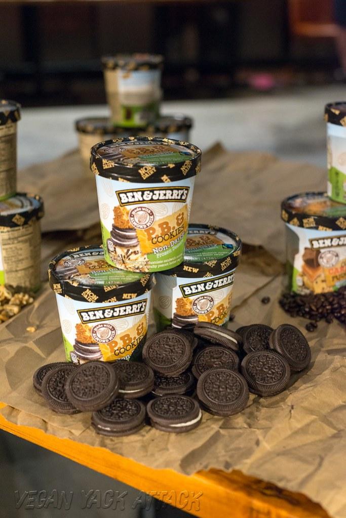 Ben & Jerry's Goes Vegan - PB & Cookies