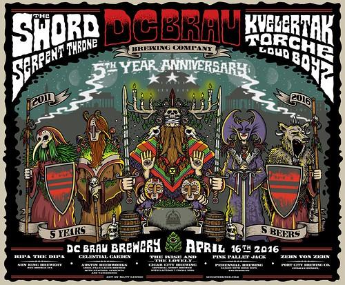 DC Brau 5th Anniversary Show