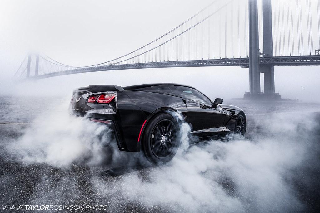C7 Corvette Burnout Instagram Tcroooks Taylor