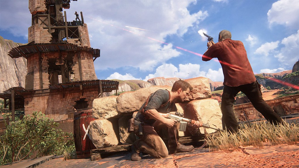 Uncharted 4: A Thief's End - 'Madagascar' Gameplay 10