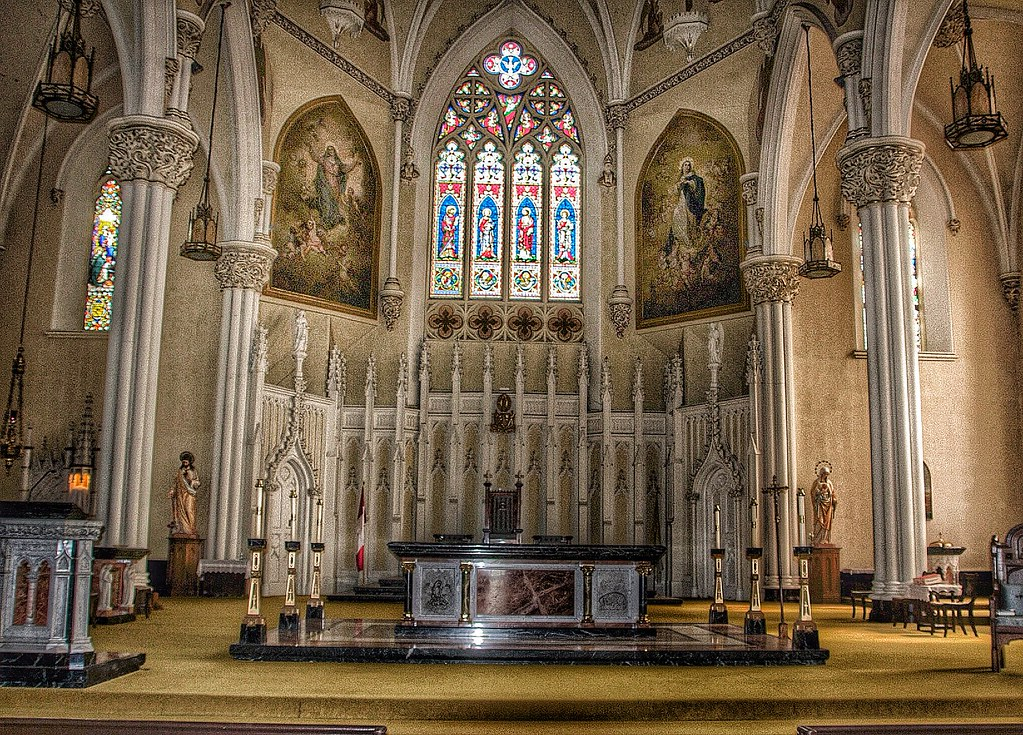 Kingston Ontario Canada Cathedral Of Saint Mary Of The