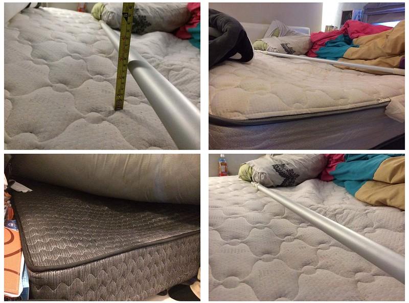 床墊凹陷參考